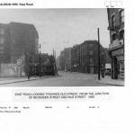 East Rd looking towards Old St - 1955