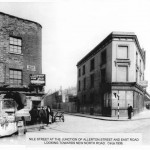 Nile Street at the junction with Allerton Street - 1936 - looking towards New North Road