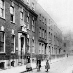 16 Charles Sq c1725 once the Shoreditch County Court